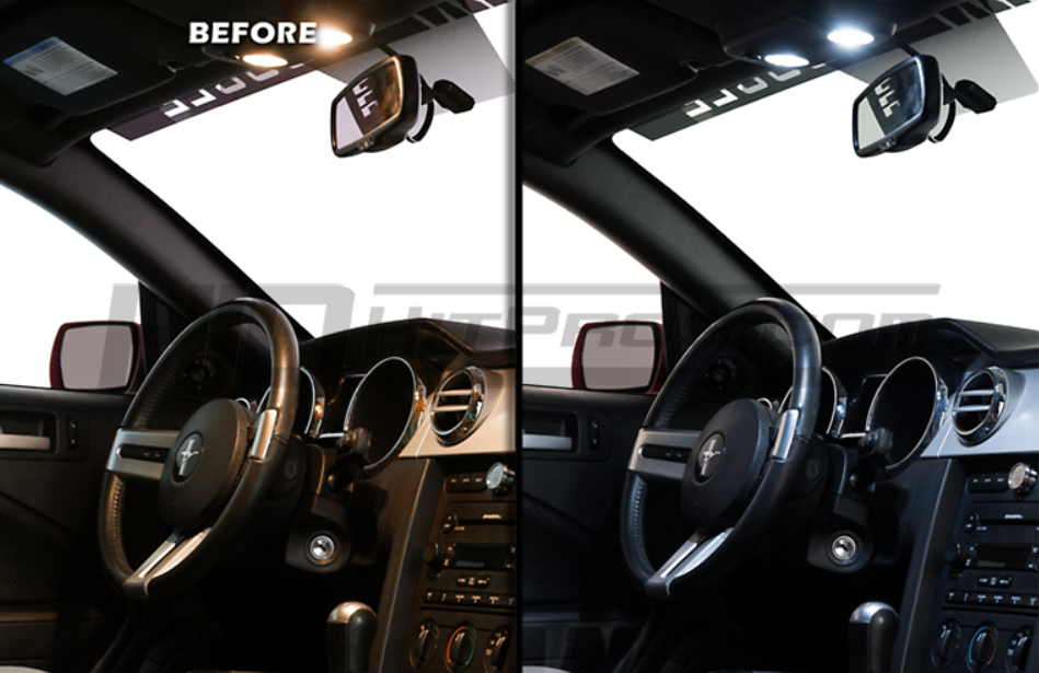 2005 2009 Ford Mustang Led Interior Lighting Package