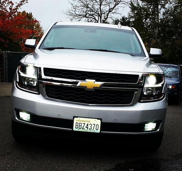 2015 2019 Chevy Tahoe Suburban Led Fog Lights Lw30 Cree