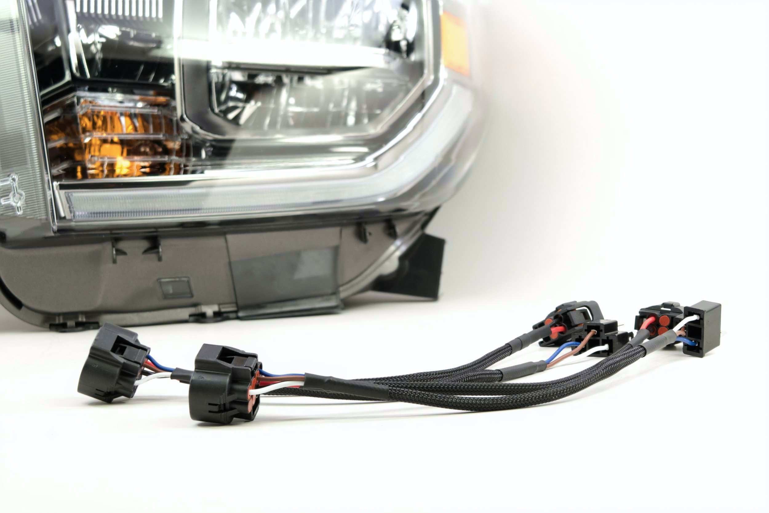 tundra wiring harness wiring diagramtoyota tundra oem led conversion harness (2014 2019) hid kit pros tundra wiring