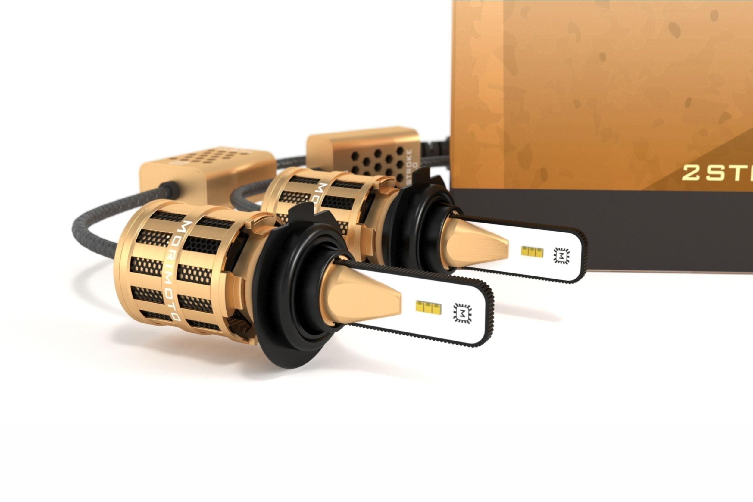 H7: Morimoto 2Stroke 2 0 LED Headlight Kit   HID Kit Pros